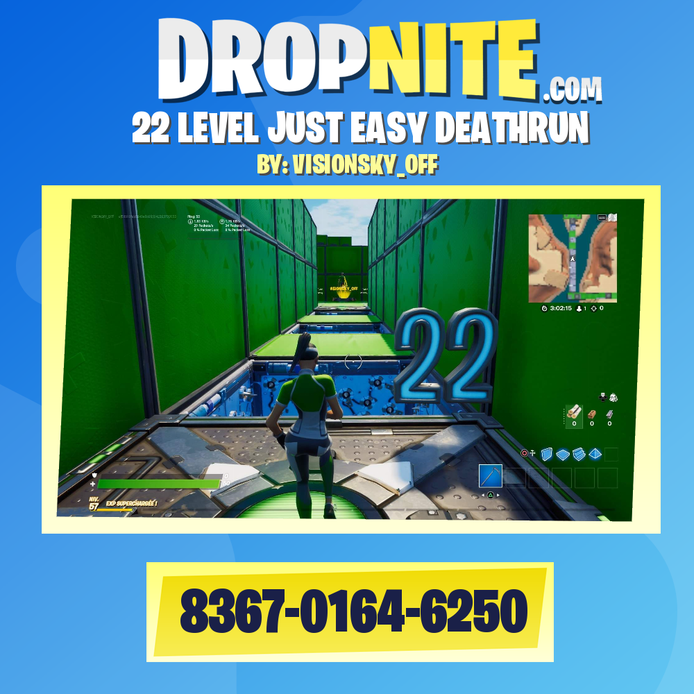 Easy Deathrun Codes Fortnite Visionsky Off S Fortnite Creative Map Codes Fortnite Creative Codes Dropnite Com